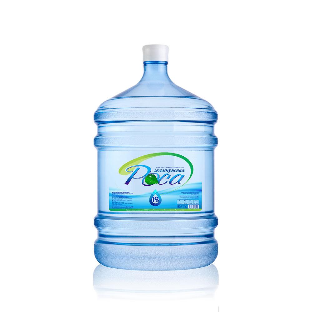 Вода артезианская питьевая высшей категории «Жемчужная Роса»